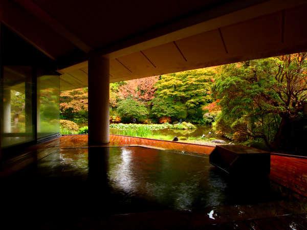 【龍門亭千葉旅館】豊かな庭園を望む露天風呂と寛ぎを与えてくれる宿