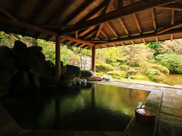 【龍門亭千葉旅館】あきた県民割対象★庭園を望む露天風呂と寛ぎを与えてくれる宿