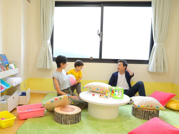 【キッズルーム】おもちゃや絵本も!小さなお子様連れに嬉しい設備いっぱいです♪※画像はイメージです。