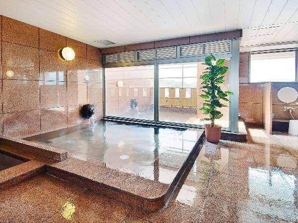 最上階の展望大浴場露天風呂・サウナ・水風呂もございます