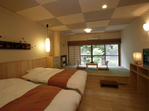 【客室例】4階リニューアルタイプ客室 和洋室