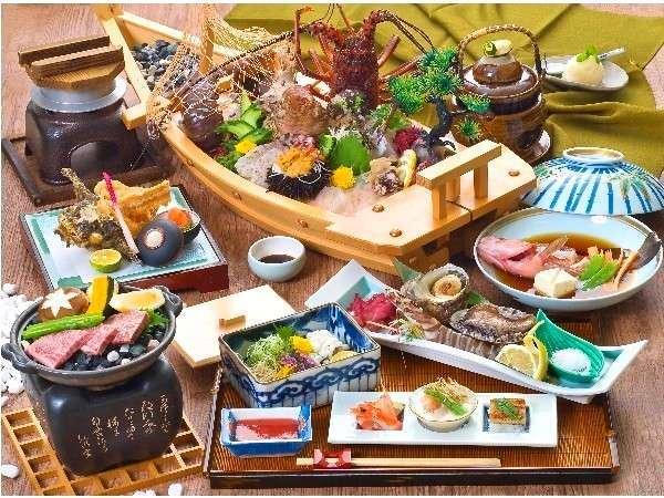 【特別室】しまなみの旬を贅沢に、お部屋で愉しんで下さい(懐石料理・例)