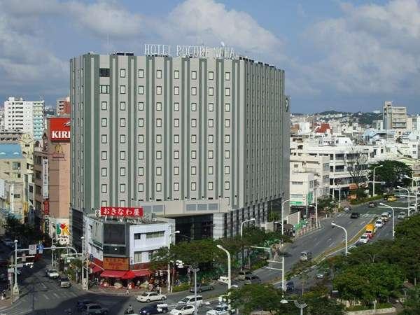 ホテル外観『大きなディスプレイが目印です』