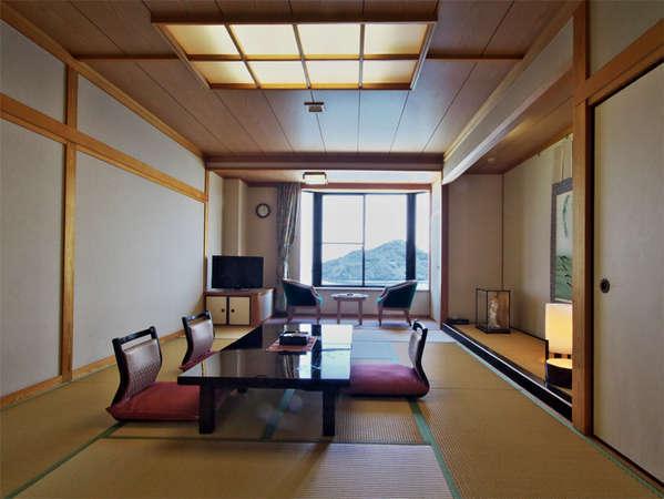 【和室12畳】全室海が見えます。