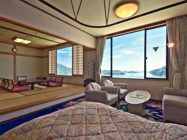 【特別和洋室】和室とツインの特別室です。画像は一例です。