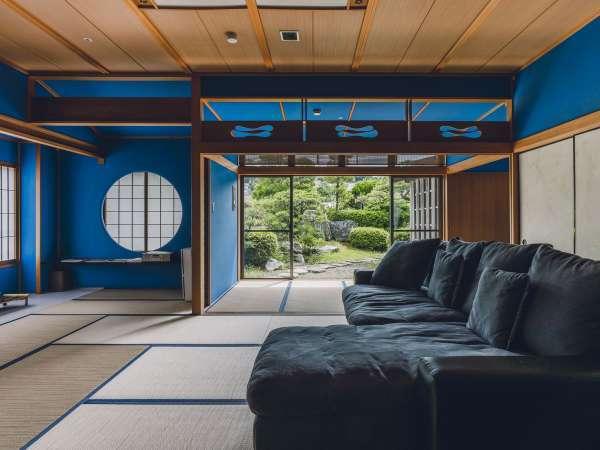 <2020年10月リニューアル>贅沢な寛ぎ空間が広がる露天風呂付客室「出雲-IZUMO-」