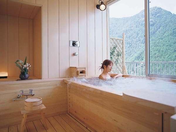 山を望む【展望風呂付客室】