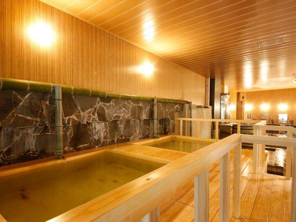 ホテルANNEX大浴場【ヒノキ風呂】