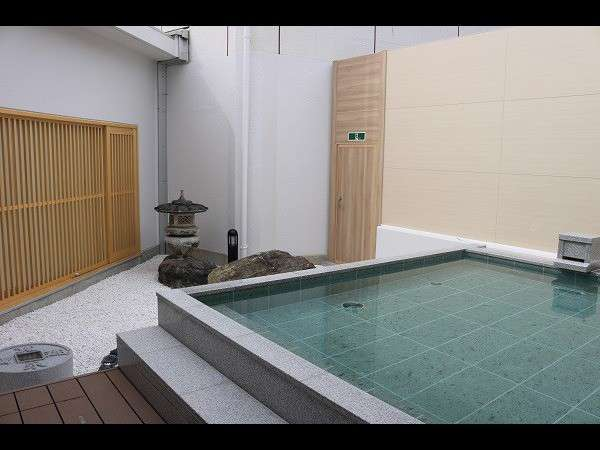 露天風呂(水琴窟の音色をたのしめる琴音の湯)