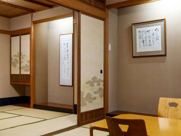 和風の佇まいをお楽しみいただける客室です