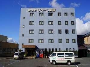 本館「ホテルグリーン安田」外観
