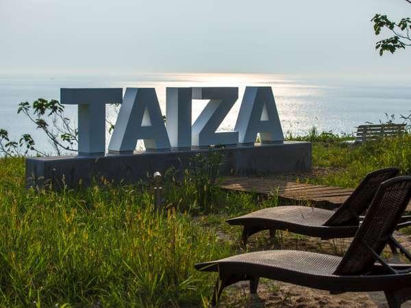 【間人テラス】2020年8月OPEN!絶景を望む間人テラス「TAIZA」のフォトスポットでお写真を♪