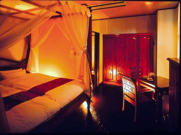 【特別室バリルーム】海望む天然温泉付き2名様専用リゾートルーム・角洋室