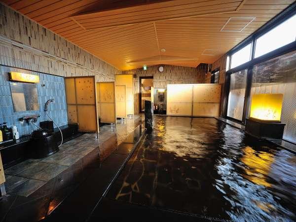 ◆男性大浴場 内湯 天然温泉『萩の湯』
