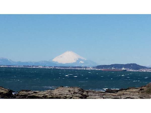 金谷から観る富士山の全景