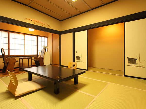 和室8畳+1.5畳トイレ付】磯部温泉が見渡せる眺望が良いお部屋