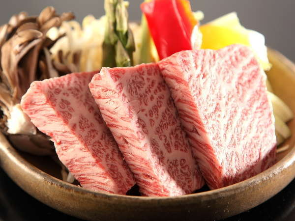 ★上州牛の陶板焼き 群馬最高グルメの上州牛!!採りたて旬野菜と一緒に♪