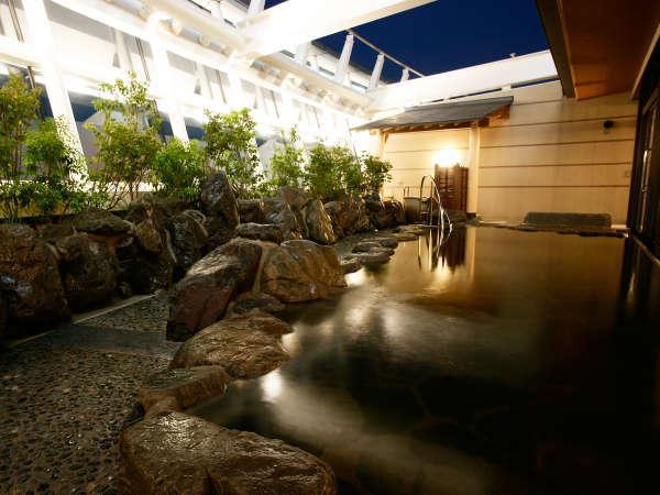 【14階大浴場(TEN)】空をながめる露天風呂★