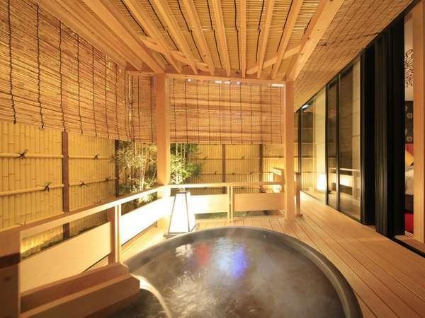 ◆別館◆和スイート かぐや・紫式部・雅 客室露天風呂