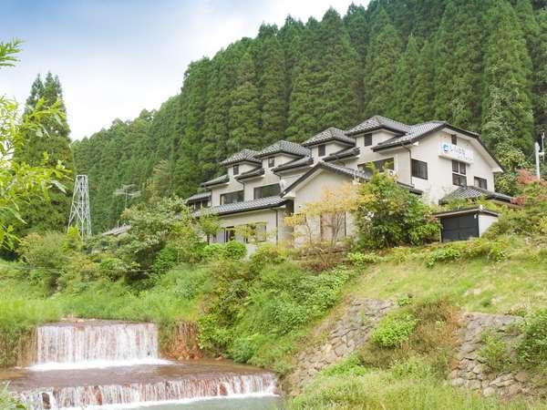 山と川に囲まれており、自然がいっぱい。