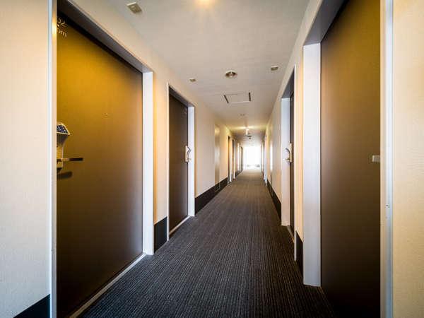客室廊下です★お客様のお部屋へどうぞ★