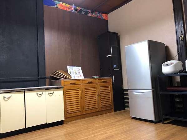 ★共同キッチン☆地獄蒸しのしたくにご自由にお使い頂けます♪調理器具等ご用意しております!