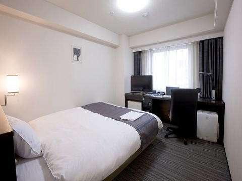 ◆スタンダードシングルルーム(18㎡)154cm幅のダブルサイズベッド♪