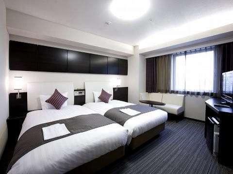 ◆ハリウッドツインルーム(26㎡)ホテルで1番広いお部屋です♪
