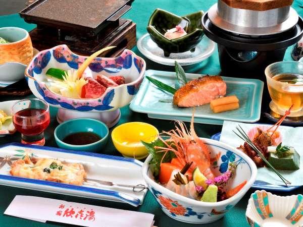◆【ご夕食】~山幸会席松コース~(※2019年6月~10月の一例です。)