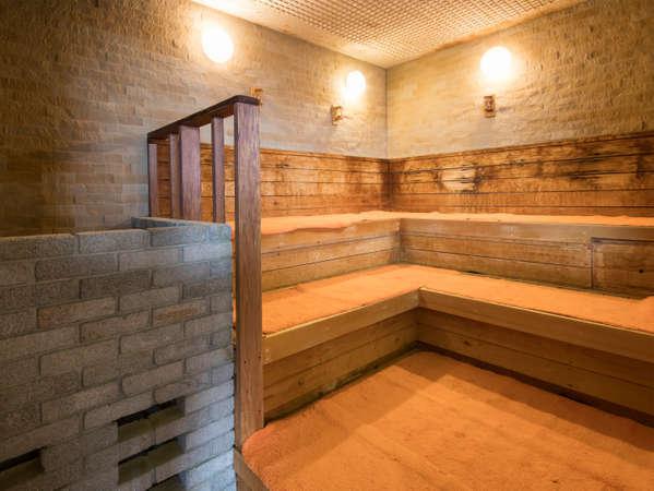 浴場内にサウナも完備