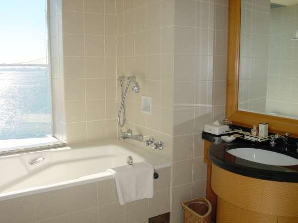 ベイビューバスルームでは思わず一番風呂を楽しみたくなります