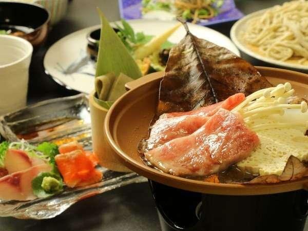 夕食はちょっと贅沢に飛騨牛♪(一例)
