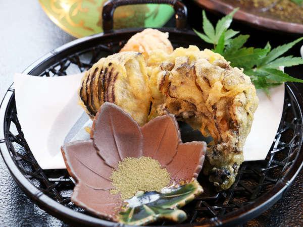 【秋の一品】素材の美味しさが引き立てられる天麩羅