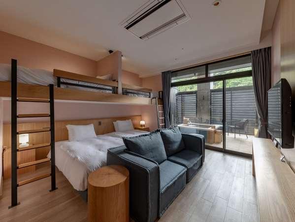 【SANA】露天風呂付客室/ロフトベッドルーム