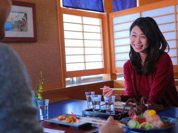 """伊勢志摩の食材を""""旬の時期""""に""""一番新鮮な状態""""で味わう。大切な人と、ご友人と、ぜひご賞味ください"""