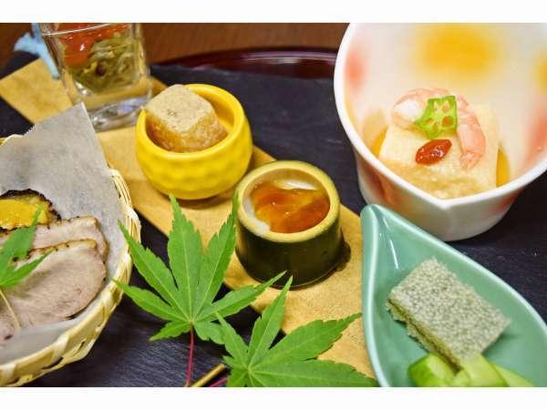 【懐石料理一例】夏らしさを演出