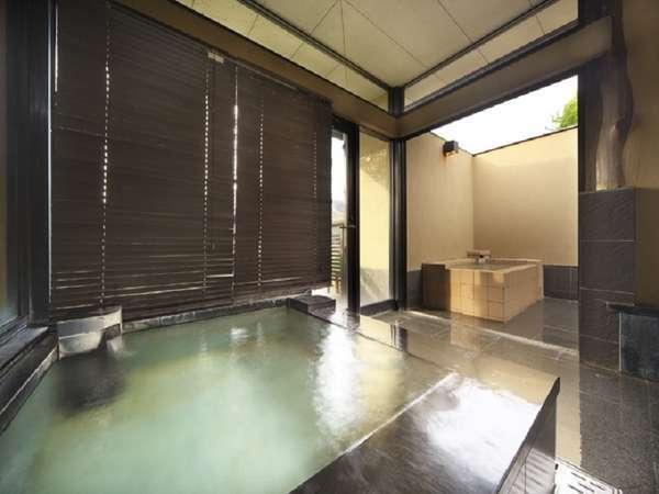 離れの有料貸切風呂【瑞牆】の内風呂
