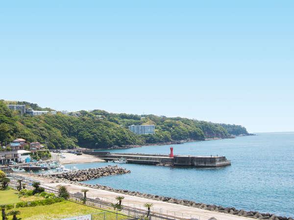 歩いてすぐに福浦漁港があります