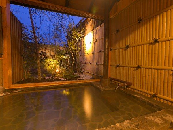 貸切露天風呂【訪ね湯】全12室。お客様お気に入りの湯殿が見つかりますように♪」/写真一例