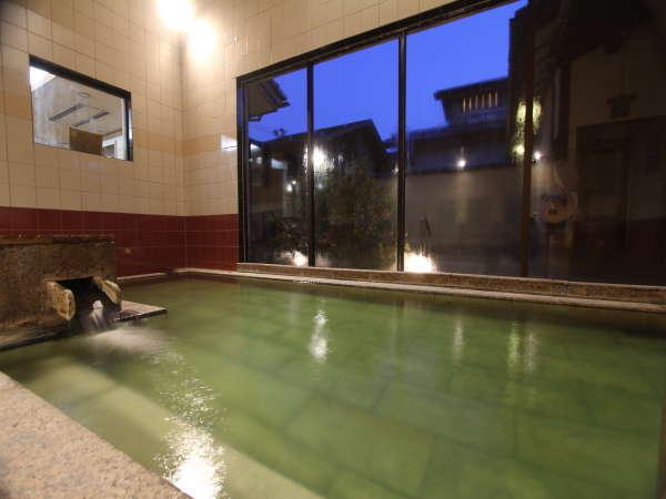 【大浴場】源泉100%&24時間入浴がたまらない