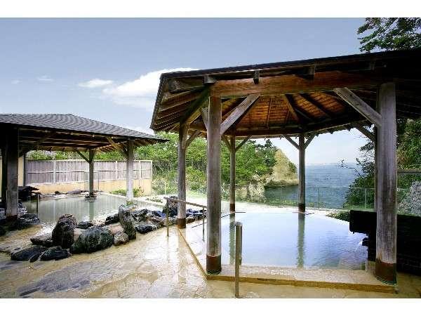 太平洋を見下ろす露天風呂 別館「大観の湯」