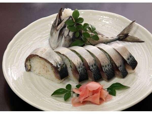 鯖の姿寿司!焼きと炙りも出来ます!