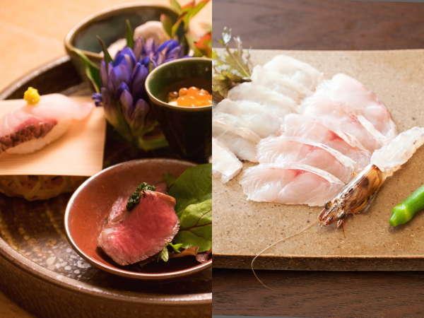 魅力2★産地・常陸国の新鮮食材を「海辺の食卓」で波音と共に 食べ心地の良い田舎の料理&上質な地酒を