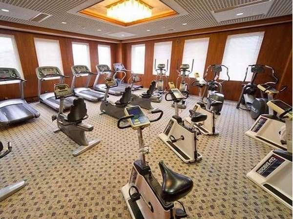 ■有酸素ジム■スポーツクラブを併設しており、旅先でも体を動かせます。