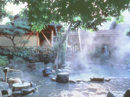 夏の露天風呂・彦星