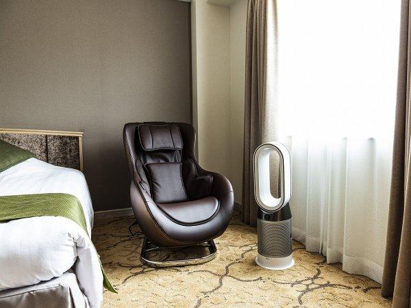 【Luxury room】マッサージチェア・ダイソンHOT&COOLファンヒーター