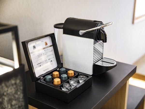 【Luxury room】ネスプレッソコーヒーメーカー