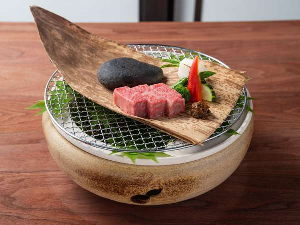 *夏のお料理一例/信州プレミアム牛(2019)
