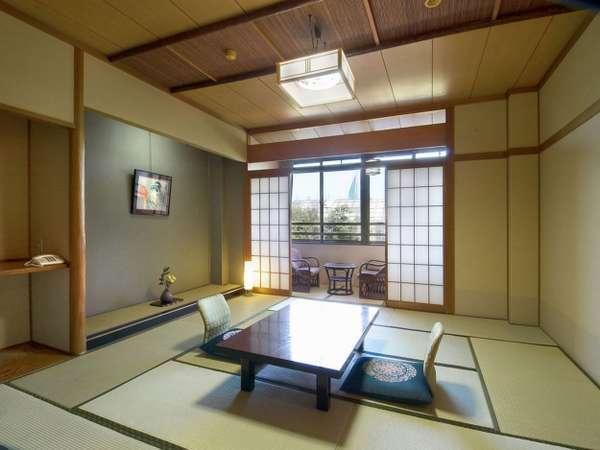 【和室10~12.5畳】 和の寛ぎに満ちたお部屋 グループやファミリーでのご利用にお勧めです