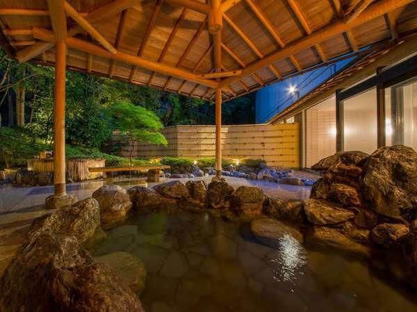 【大浴場・露天風呂】開放感抜群の露天風呂で旅の疲れを癒してください♪
